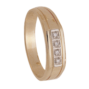 5mm 4930 Mens Tapered Wedding Band