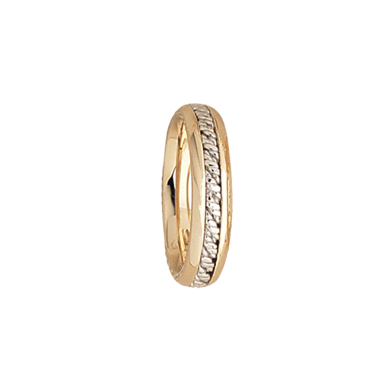 Cadman Catalog 5mm 5539 LadiesTwo Tone Wedding Band