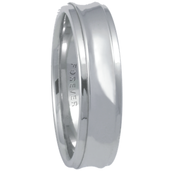 6mm 6T82 Mens Comfort Curve Wedding Band