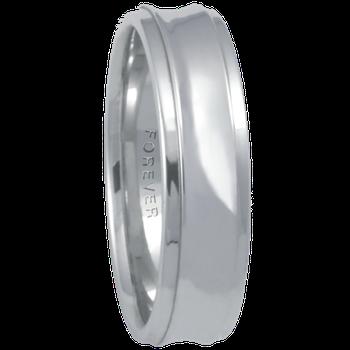 6mm 6T82 Mens Comfort Curve Wedding Band
