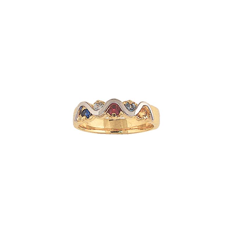 Cadman Catalog Family Ring F2572