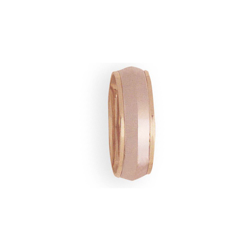Cadman Catalog 8mm 4T36 Mens Two-Tone Wedding Band