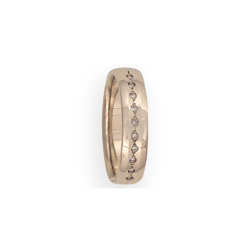 Cadman Catalog 5.5mm 6T68 Mens Diamond-Set Wedding Band