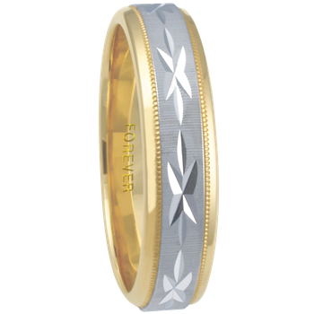 6mm 6T90 Mens Comfort Curve Wedding Band