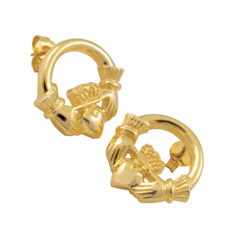 Cadman Catalog Claddagh Earrings