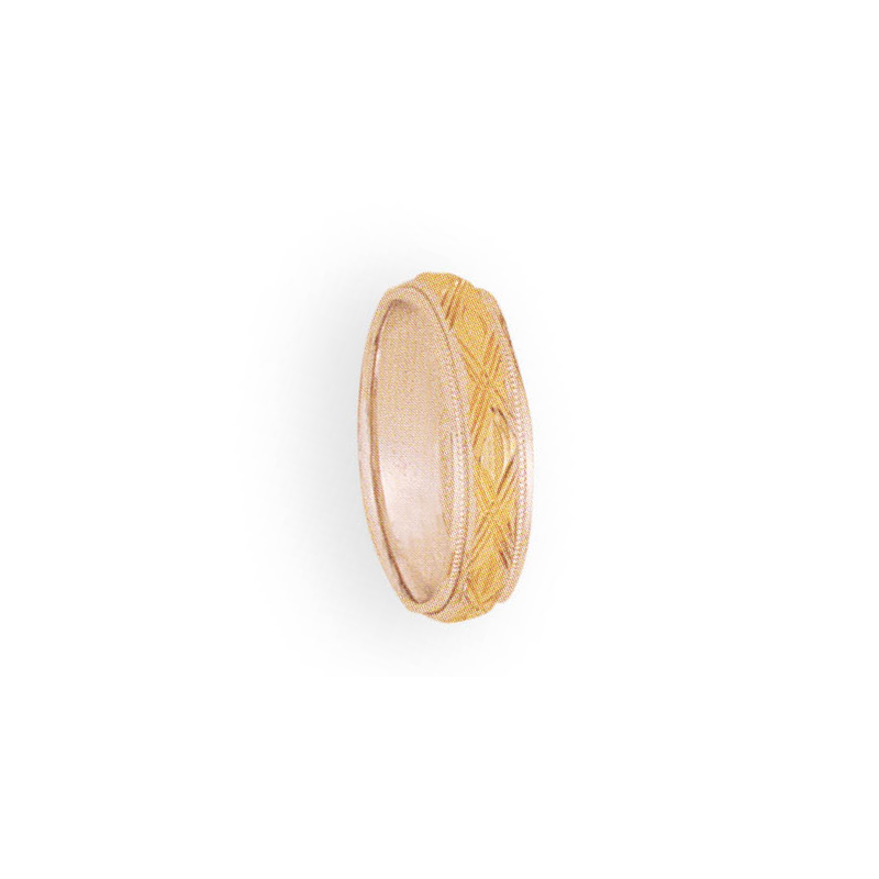 Cadman Catalog 5mm 4T95 Ladies Two-Tone Wedding Band