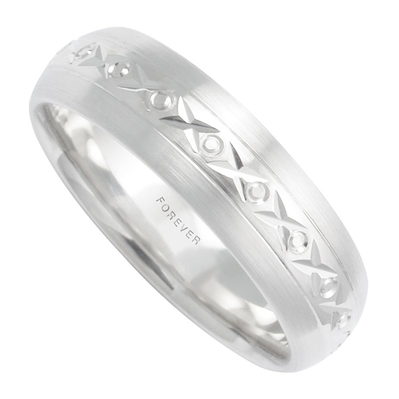 Cadmans MENS COMFORT CURVE WEDDING BAND