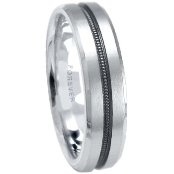 6mm 1T078 MensComfort Curve  Wedding Band