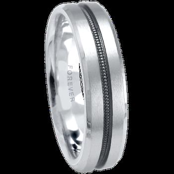 6mm 1T078 MensComfort Curve  Wedding Band