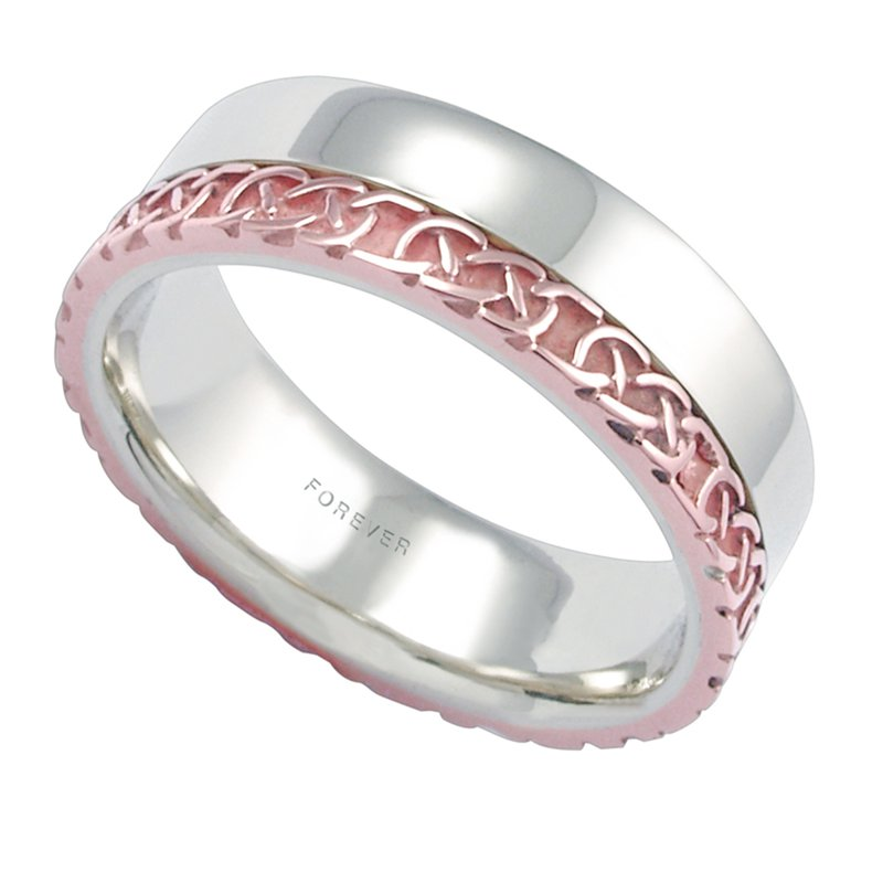 Cadmans LADIES COMFORT CURVE WEDDING BAND