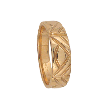 7-5mm 5334 Mens Tapered Wedding Band