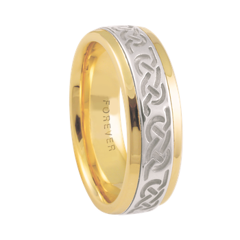 6mm 5852 Ladies Celtic Wedding Band