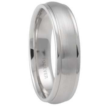6mm 6T58 Mens Comfort Curve Wedding Band