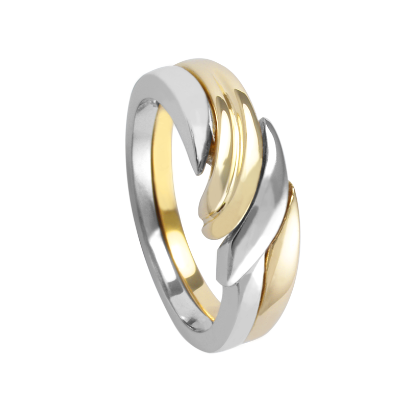 Cadman Catalog Ladies Two Tone  Ring 2291