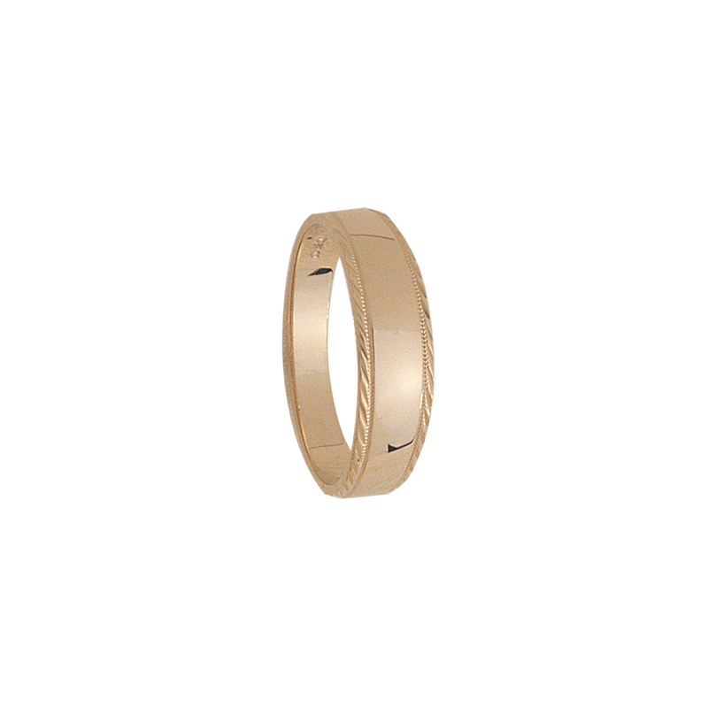 Cadman Catalog 6mm tapered 318 Mens Wedding Band