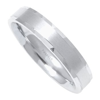 LADIES COMFORT CURVE WEDDING BAND