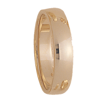 5.5mm 550T Mens Wedding Band