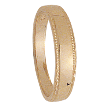 4mm tapered 319 Ladies Wedding Band