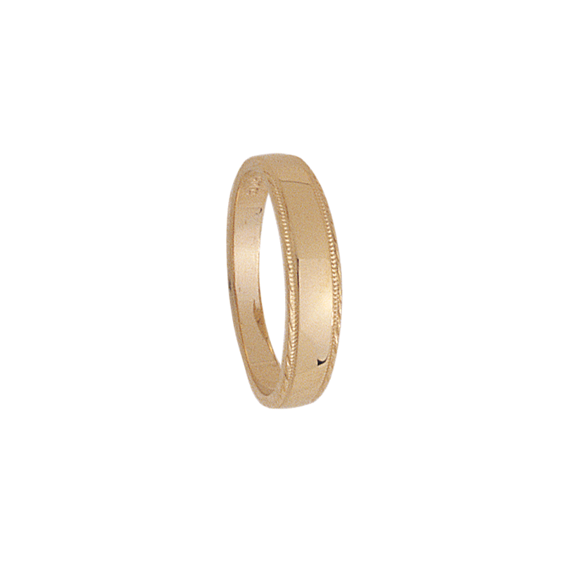 Cadman Catalog 4mm tapered 319 Ladies Wedding Band