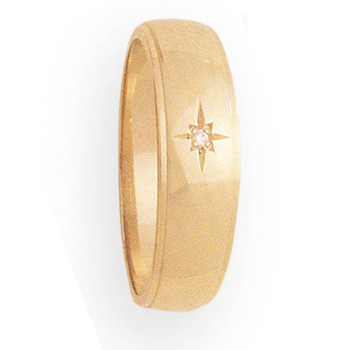 8mm 914 Mens Tapered Wedding Band