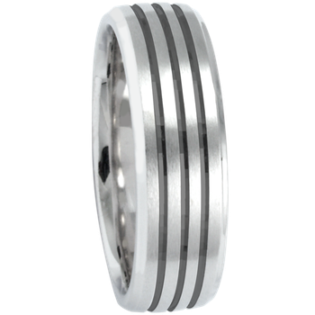 6mm 1T084 Mens Comfort Curve Wedding Band