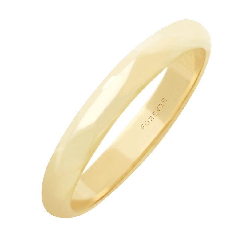 Cadmans LADIES LIGHT WEIGHT TIFFANY WEDDING BAND