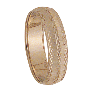 6mm 7T22 Mens Wedding Band