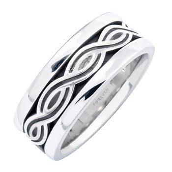 LADIES CELTIC TWIST WEDDING BAND