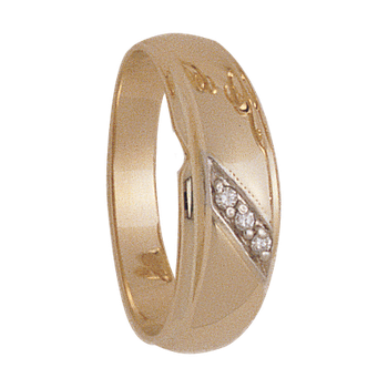 7mm 4936 Mens Tapered Wedding Band