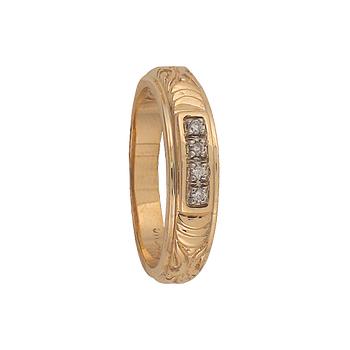 5.5mm 5558 Mens Tapered Wedding Band