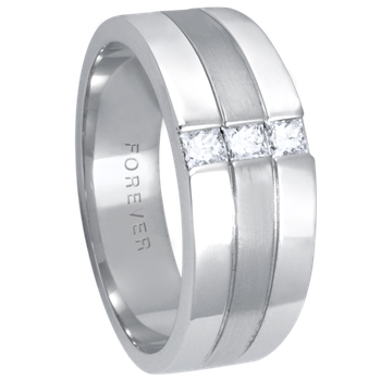 8.5-6mm 5762 Mens Tapered Wedding Band