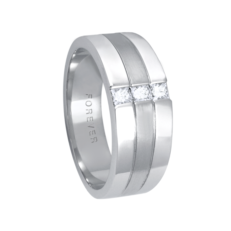 Cadman Catalog 8.5-6mm 5762 Mens Tapered Wedding Band