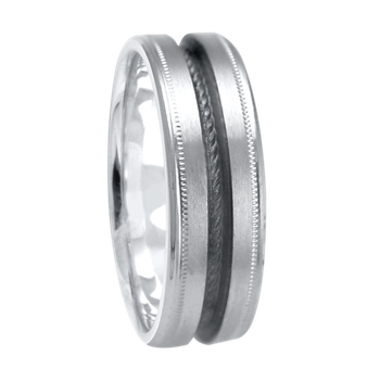 6mm 1T080 Ladies Comfort Curve Wedding Band