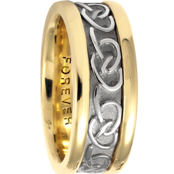 7.5mm 5426 Ladies Celtic Wedding Band