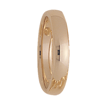 4mm 400T Ladies Wedding Band