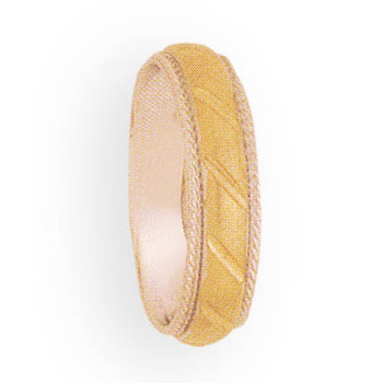 5mm 4T85 Ladies Two-Tone Wedding Band