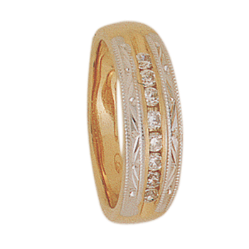 6mm 5216 Ladies Tapered Wedding Band