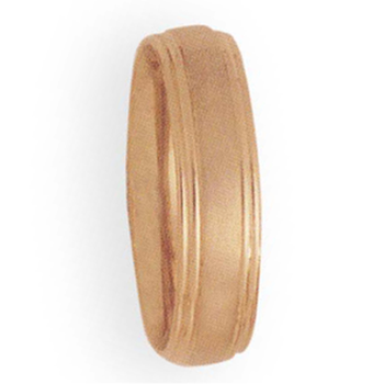 6mm 3T52 Mens Comfort Curve Wedding Band