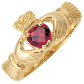 Ladies Claddagh ring CC79