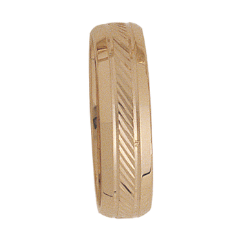 6mm 3T10 Mens Wedding Band