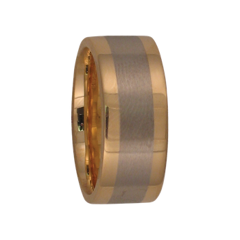 7.5mm 5262 Ladies TwoTone Wedding Band