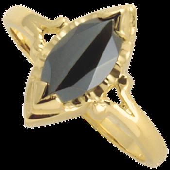 Hematite Ring 1866