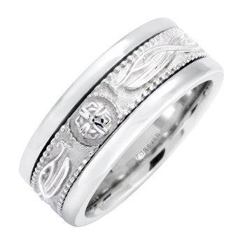 LADIES CELTIC WARRIORS WEDDING BAND