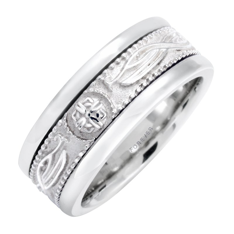 Cadmans LADIES CELTIC WARRIORS WEDDING BAND