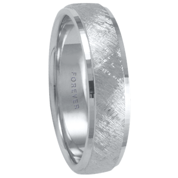 6mm 1T068 Mens Comfort Curve Wedding Band