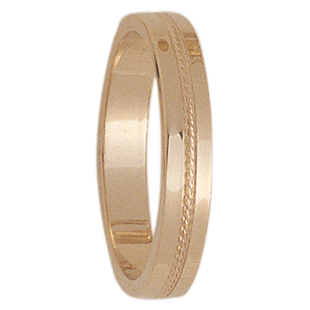 4mm WCT25 Mens Wedding Band