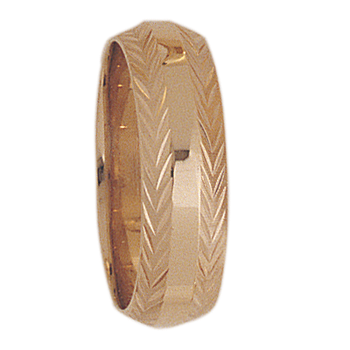 6mm 7T52 Ladies Wedding Band
