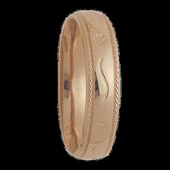 6mm 4T12 Mens Comfort Curve Wedding Band