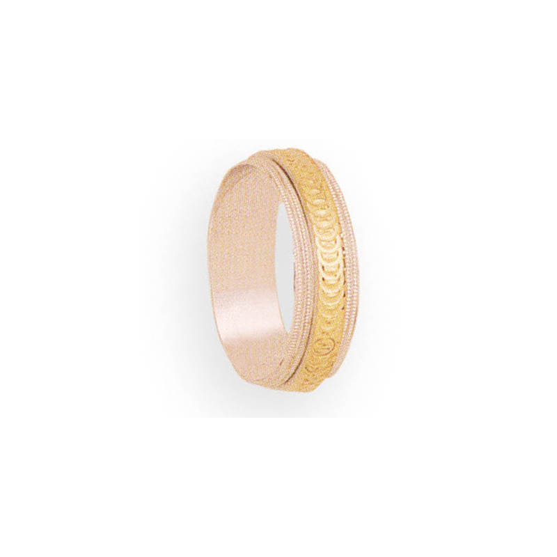Cadman Catalog 6mm 5T04 Ladies Two-Tone Wedding Band