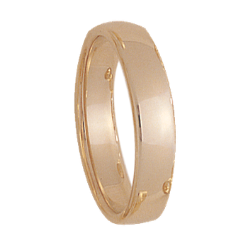 5mm 500T Mens Wedding Band